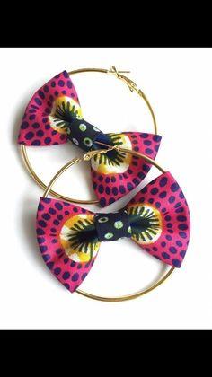 Boucles d'oreilles créoles noeux anneaux diy bijoux
