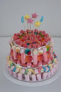 Cantinho da Somi: Sugestão para festas de miúdos |Bolo de gomas|