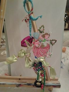 Wedding ornament in progress