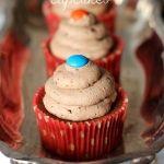 M&M+Cupcakes