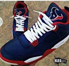 Where can i find these Texans Jordans. my husband would love them. Rob And Chyna, Texans Logo, Texans Cake, Bulls On Parade, Houston Texans Football, Denver Broncos, H Town, Football Season, T 4