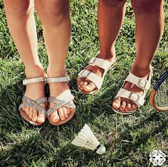A little birdie told us she needs these sandals! Sparkle or buckle – which will you pick?!