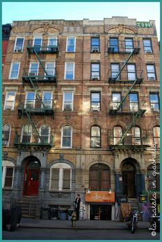 East Village, New York City #lapatataingiacchetta