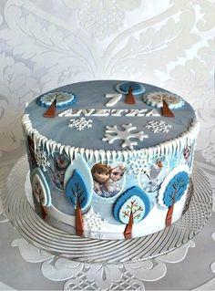 Frozen - Cake by Frufi