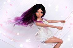 The World's newest photos by Doll Wigs, Ooak Dolls, Blythe Dolls, Custom Monster High Dolls, Custom Dolls, Dolly Fashion, Fashion Dolls, Girl Hair Colors, Enchanted Doll