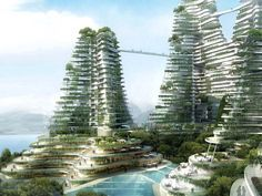 At a projected cost of $38 billion-plus, Forest City is an ambitious development currently under construction off the coast of Malaysia. Comprised of four artificial islands, the project is being developed by country Garden Holdings, one of China's largest residential property developers.