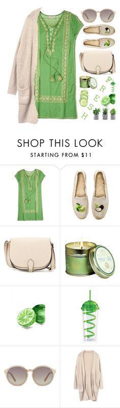 """Fresh BBQ Style"" by junglover ❤ liked on Polyvore featuring Calypso St. Barth, Soludos, CXL by Christian Lacroix, Ermanno Scervino, Kew Gardens, Oggi, Linda Farrow, polyvoreeditorial, polyvorecontest and summerbbq"
