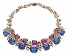 Blue Iridescence necklace, Bvlgari