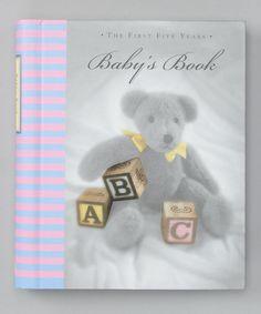 Look at this #zulilyfind! Baby's Book: The First Five Years Hardcover #zulilyfinds