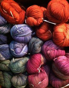 Malabrigo Sock. My favorite yarns.