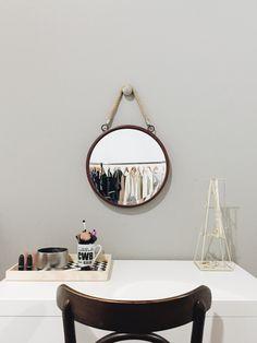 Penteadeira Julia #quartodajules Closet Bedroom, Bedroom Decor, Scandi Home, Bohemian Room, Indie Room, Awesome Bedrooms, Minimalist Decor, Decoration, Ideal Home