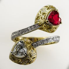 We love the romance of mixing something old with something new.  Which is why we love seeing the resurgence of the Toi et Moi ring.  Toi et Moi means 'you and me' in French and the style incorporates two stone symbolising the love between two people.   We can custom make your very own Toi et Moi ring at Brinkhaus Jewellers Perth   #toietmoi #toietmoiring #ring #engagementrings #2020engagementringtrends #ringtrends #coloredstonerings #handcraftedrings #alternativeengagementring #custommade Stone Earrings, Stone Bracelet, Stone Necklace, Stone Jewelry, Coloured Stone Rings, Ring Pictures, Alternative Engagement Rings, Men Necklace, Perth