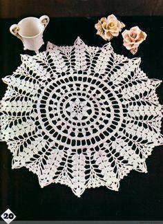 Magic Crochet 17(2) - 木棉花 - 雨茫茫,雾茫茫,盼望花开,花已落……