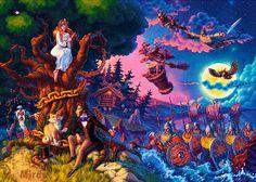 HD Mythical creatures in the mythology of Komi wallpaper Dream Drawing, World Of Fantasy, Fairytale Art, Book Illustration, Mythical Creatures, Art Blog, Art Sketches, Mythology, Illustrators
