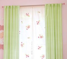 Pottery Barn Kids Curtains $109.00