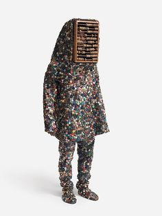 & makes me want to touch it + + + Nick Cave. Soundsuit, 2008, mixed media