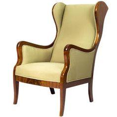 Frits Henningsen Wingback Armchair $5,800 Artful Dodger Inc.