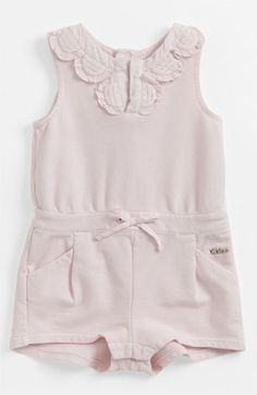 Chloé Terry Cloth Coveralls (Infant) available at #Nordstrom