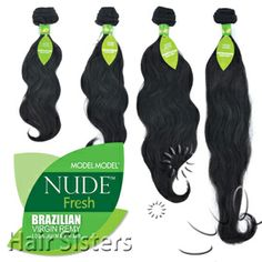 Model Model Nude Fresh 100% Unprocessed Brazilian Virgin Remy Human Hair Weaving
