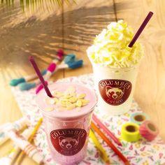 I Nos NOUVEAUX milkshakes I Le milkshakes cerise, amande & soja et le milkshakes noix de coco & mangue I