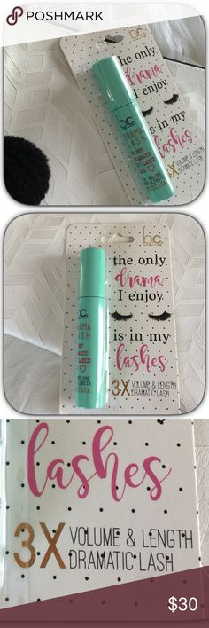 NWT Drama Lash 3X Volume & Length Mascara This is one of my favorite mascaras! It does give nice volume and length! Makes your eyes just pop! Boutique Makeup Mascara