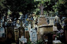 Colombia - Cementerio, Barichara Santander.