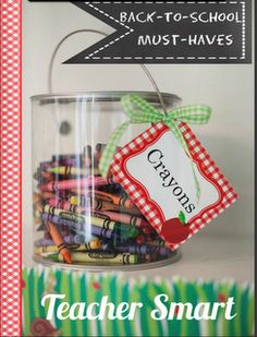 Back-to-School eMagazine: a must have list thatwas compiled from some of my favorite teacher bloggers. After looking through this eMag, you'll have some great ideas for a successful school year!