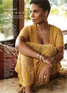 Sanaa Lathan Stills in Health Magazine, June 2018 Issue Sanaa Lathan, Natural Hair Cuts, Natural Hair Styles, Short Natural Haircuts, Twa Styles, Pelo Natural, Natural Hair Inspiration, Afro Hairstyles, Big Chop Hairstyles