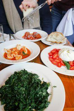 Bar Pitti for proper Italian food from proper Italians! New York Essen, Nyc Christmas, New York Food, I Love Nyc, Food Places, Grubs, Palak Paneer, Italian Recipes, A Table
