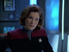 Captain Janeway - Gif