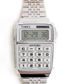 Look nice in a stunning timepiece. Lots of types of timepieces are currently available, from vintage versions, to those which include hi-tech. Best Kids Watches, Amazing Watches, Cool Watches, Watches For Men, Stylish Watches, Timex Watches, Old Computers, Oldies But Goodies, My Childhood Memories