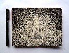 Incredible Moleskine Doodles By Kerby Rosanes.
