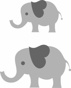 This listing is for an instant download of a zip file containing a SVG, EPS, PDF and JPG on an 8.5x11 page of an elephant I created. Simply