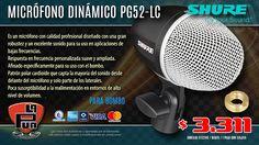 La Púa San Miguel: Micrófono Dinámico para Bombo SHURE PG52LC