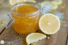 Make Your Own Simple Lemon Jam