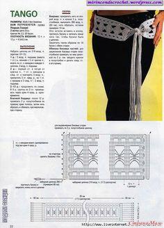 Mi Rincon de Crochet   Un lugar para compartir !!!   Página 27 Crochet Belt, Crochet Halter Tops, Crochet Diagram, Crochet Chart, Love Crochet, Crochet Gifts, Knit Crochet, Crochet Necklace, Crochet Patterns