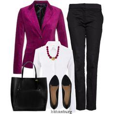 Fuchsia Blazer for the Office