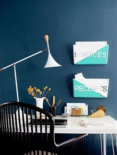 Jazz Up Your Office With This Functional D.I.Y.