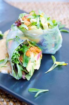 Vietnamese Summer Rolls - Creative Culinary Group – Kara Mickelson