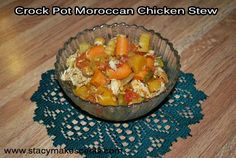 Crock Pot Moroccan Chicken Stew