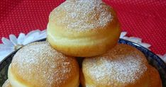 Czech Recipes, Russian Recipes, Mini Cheesecakes, Something Sweet, Donuts, Brunch, Food And Drink, Bread, Baking