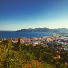 Cannes vu de haut