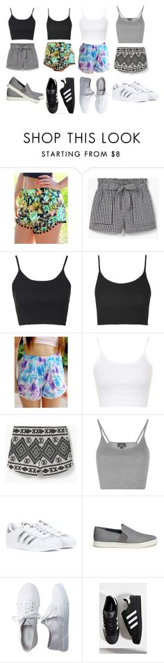 """#35"" by ale26smile ❤ liked on Polyvore featuring MANGO, Topshop, adidas, Vince and Aéropostale"