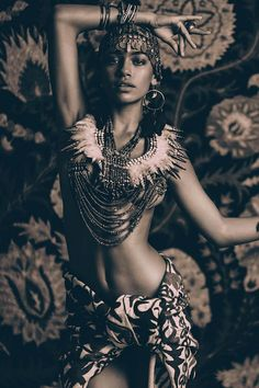 Zahara Davis @FAUVE Models for Bohemian Diesel. Ph: Nicoline Patricia Malina Stylist: Alia Husin MUA: Rommy Andreas Sasuwe www.bohemiandiesel.com