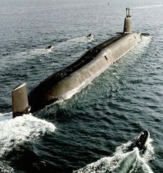 """HMS """"Victorious """"Vanguard Class Trident Submarine of Royal Navy"""