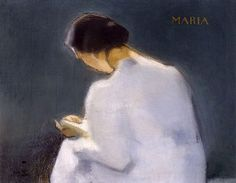 This postcard features Maria by Helene Schjerfbeck as seen in the Helene Schjerfbeck Exhibition. Helene Schjerfbeck is on display at The Royal Academy of Arts from 20 July - 27 October Helene Schjerfbeck, Figure Painting, Painting & Drawing, Female Painters, National Gallery, Reading Art, Girl Reading, Helsinki, Figurative Art
