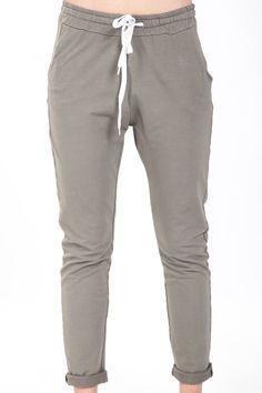 Pantalone felpa con tasca