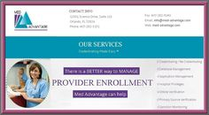 Provider enrollment companies usually maintain a database of the medical services and enroll them to rate their services under the above mentioned parameters for the users. These companies are best option for medical Credential services.