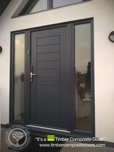 Anthracite Grey Solidor Timber Composite Doors 12 Months Interest Free Credit by Timber Composite Doors Real Pictures, Real Homes, Real Doors, Real Solidor a small selection of fitted Solidor Timber Composite Doors installed and fitted by ourselves throughout the UK. design yours online at our site below #solidor #compositedoors #compositedoors #frontdoors With #ultion #ultionlocks as standard
