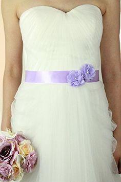 Lemandy Vintage Two Flowers Bridal Sash Wedding Dress Belts Wedding Accessories B13 in 11 Colors (lavender) Lemandy http://www.amazon.co.uk/dp/B015W4ZO9A/ref=cm_sw_r_pi_dp_Qdkiwb0K1B5PY